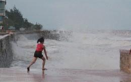 Bất chấp nguy hiểm, khách du lịch vẫn tắm biển Đồ Sơn dù bão số 3 sắp đổ bộ