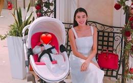 Sau tin đồn mang thai, xuất hiện hình ảnh khiến dân mạng đặt nghi vấn Lê Hà đã sinh con đầu lòng?