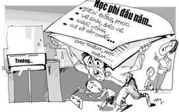 Hà Nội vẫn nhiều nơi lạm thu tiền trường