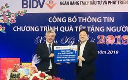 BIDV dành 20 tỷ đồng tặng quà tết người nghèo