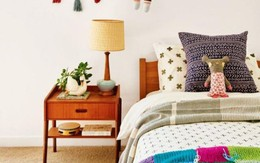 Nếu bạn mong muốn con luôn sống vui vẻ, hoạt bát đừng bỏ qua phong cách Bohemian khi trang trí phòng
