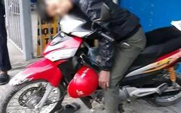 Nguyên nhân nam thanh niên chết trong tư thế ngồi trên xe máy