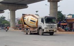 """Xe tải, xe bồn đại náo thủ đô dịp cận Tết (2): Muốn chạy giờ cấm phải…""""có cách"""""""