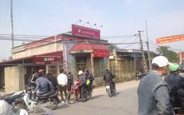 Khởi tố đối tượng dùng dao quắm, bình xịt hơi cay cướp ngân hàng ở Thái Bình