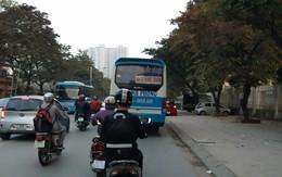 Hà Nội: Xe khách vào phố cấm, dừng đỗ chốn đông người