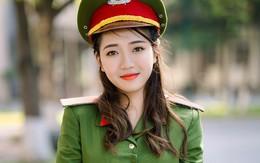 Ảnh kỷ yếu lưu dấu thanh xuân của nữ sinh Học viện Cảnh sát Nhân dân