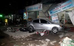 Hải Dương: Xe ô tô về quê ăn cưới mất lái đâm một loạt phương tiện, 1 bé gái gãy chân