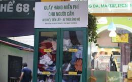 Trời trở lạnh, Hà Nội xuất hiện tủ quần áo 'thừa cho đi, thiếu nhận lại'
