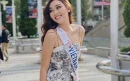 Tường San nói gì khi dừng chân Top 8 Hoa hậu Quốc tế 2019?