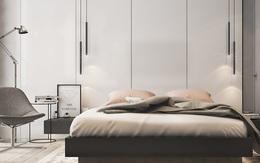 Căn hộ 2 phòng ngủ có sắc màu trung tính sang trọng đáng để học hỏi