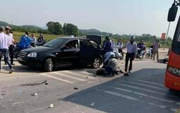 Va chạm với ô tô khách, hai  nữ sinh cấp 3 ở Hải Dương tử vong trên đường đi học