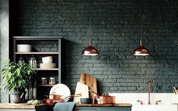Những ý tưởng trang trí nhà bếp màu đen siêu ấn tượng