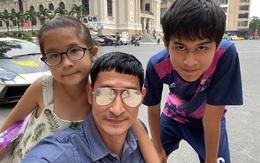 Huy Khánh: 'Vợ là bà chủ, con gái là quản lý'