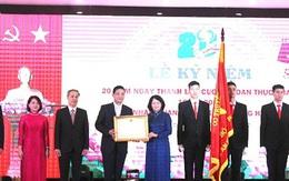 Cục An toàn thực phẩm được Chủ tịch nước tặng thưởng Huân chương Lao động hạng Nhất