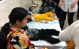 Thanh Hóa: Hàng chục học sinh mầm non nhập viện nghi do ngộ độc thực phẩm