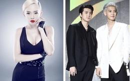 Tóc Tiên biểu diễn cùng 6 nhóm nhạc hàng đầu Hàn Quốc