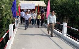 Khánh thành Cầu Sông Lá ở Hậu Giang trước thềm năm mới