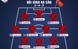 Thuyền trưởng Park Hang-seo tung đội hình mạnh, sẵn sàng giành chiến thắng trước Thái Lan