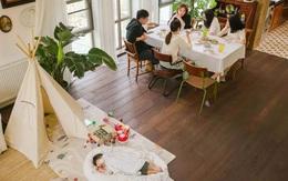 Cặp vợ chồng trẻ biến ngôi nhà đổ nát thành không gian sống hoa nở bốn mùa