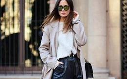 Mix áo khoác dài mùa đông với các kiểu dưới đây, chị em trông vừa hiện đại vừa quyến rũ