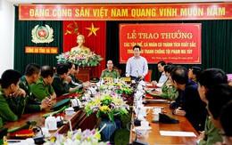 Hà Tĩnh: Khen thưởng lực lượng phá nhiều vụ án buôn bán ma túy lớn