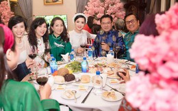 Hoa hậu Giáng My làm tiệc tất niên 15 món đãi khách
