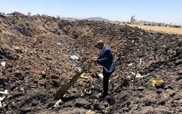 Nhân chứng: Máy bay Ethiopia nổ cực mạnh khi đâm xuống đất