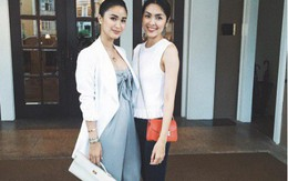Không ngờ Hà Tăng có bạn thân là mỹ nhân - vợ chính trị gia Philippines