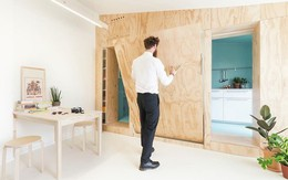 Mọi vấn đề đau đầu ở một căn nhà nhỏ đều được giải quyết nhờ thiết kế thông minh