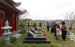 Chùm ảnh: Công viên nghĩa trang rộn ràng tảo mộ trong tiết thanh minh