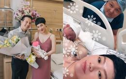 Trà My Idol xinh đẹp bất ngờ sau 3 ngày sinh con