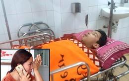 Giọt nước mắt tuyệt vọng của người mẹ nghèo có con bị ngã từ tầng 2 xuống sân trường học