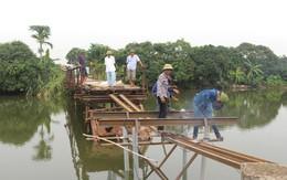 Chuyện cầu Bồng Lai bị sập trong đêm và ước nguyện của dân làng