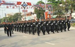 2.300 người tham gia lễ diễu binh, diễu hành tại thành phố Điện Biên Phủ