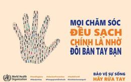 """Nhiều cơ sở y tế hưởng ứng Ngày thế giới vệ sinh tay 5/5 với thông điệp """"Bảo vệ sự sống: Hãy vệ sinh tay"""""""