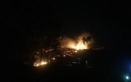 Nắng nóng kéo dài, Nghệ An và Hà Tĩnh liên tiếp xảy ra cháy rừng
