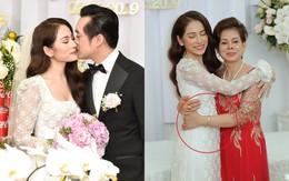 Cô dâu Sara Lưu lộ vòng 2 bất thường trong ngày vu quy
