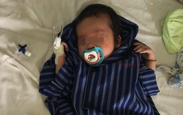 Vừa chào đời 23 ngày tuổi, bé trai bị sưng phồng vùng kín
