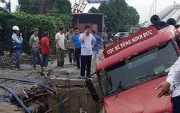 Diễn biến mới nhất vụ nhiều hộ dân mất nước sau sự cố xe container làm vỡ đường ống