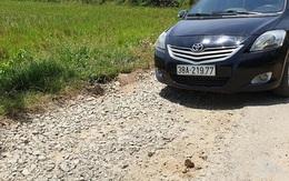 Hà Tĩnh: Người dân khốn khổ vì đường liên xã xuống cấp nghiêm trọng
