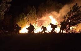 Cháy chồng cháy, núi rừng Hà Tĩnh liên tiếp chìm trong lửa