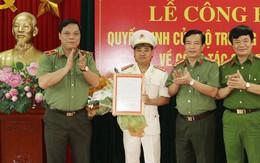 Bổ nhiệm Trưởng Công an thành phố Thanh Hóa