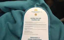 """Vietnam Airlines thông tin chính thức vụ việc hành khách """"tố"""" có giòi trong chăn trên chuyến bay"""