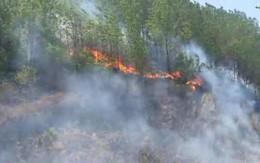 Tiếp tục cháy lớn tại Hà Tĩnh, huy động hàng trăm người dập lửa