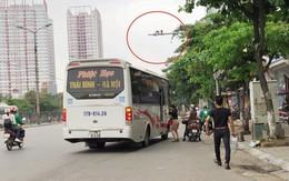 """Camera giao thông lắp đặt quanh bến xe Giáp Bát chỉ để… """"trang trí""""?"""