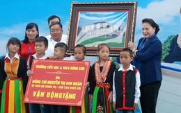 Chủ tịch Quốc Hội vận động tài trợ xây dựng trường học tại tỉnh Quảng Ninh