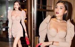 Hoa hậu Kỳ Duyên khoe ngực ngồn ngộn, lấn át cả nhân vật chính Diệp Lâm Anh