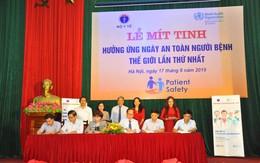 Bộ Y tế hưởng ứng Ngày An toàn người bệnh thế giới lần thứ nhất