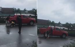 Người phụ nữ đau đớn kể lại sự việc bị chồng cũ đánh đập dã man giữa đường