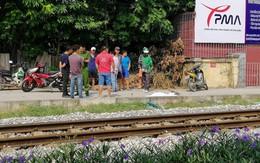 Hà Nội: Băng qua đường, nam thanh niên bị tàu hỏa cán tử vong
